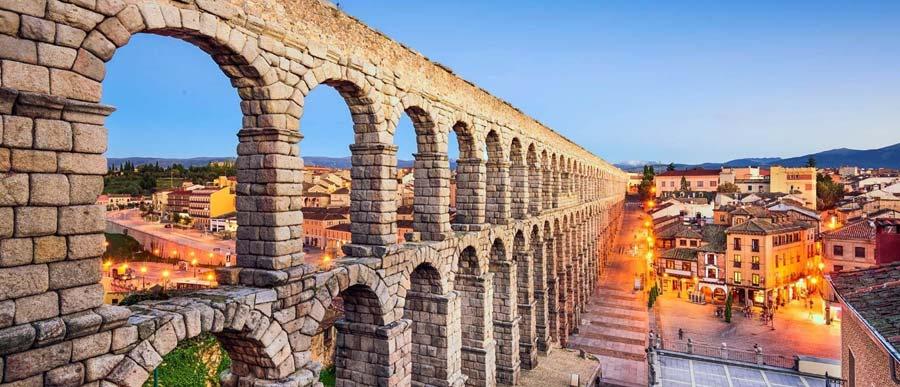 Acueducto de Segovia - Somos Romanos - Paco Álvarez