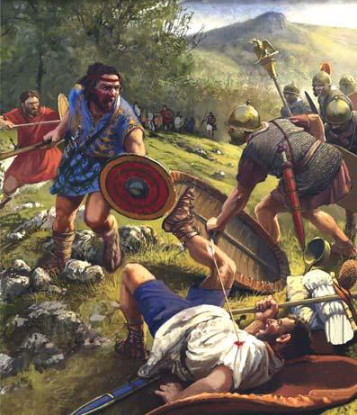 Guerras cántabras hispania
