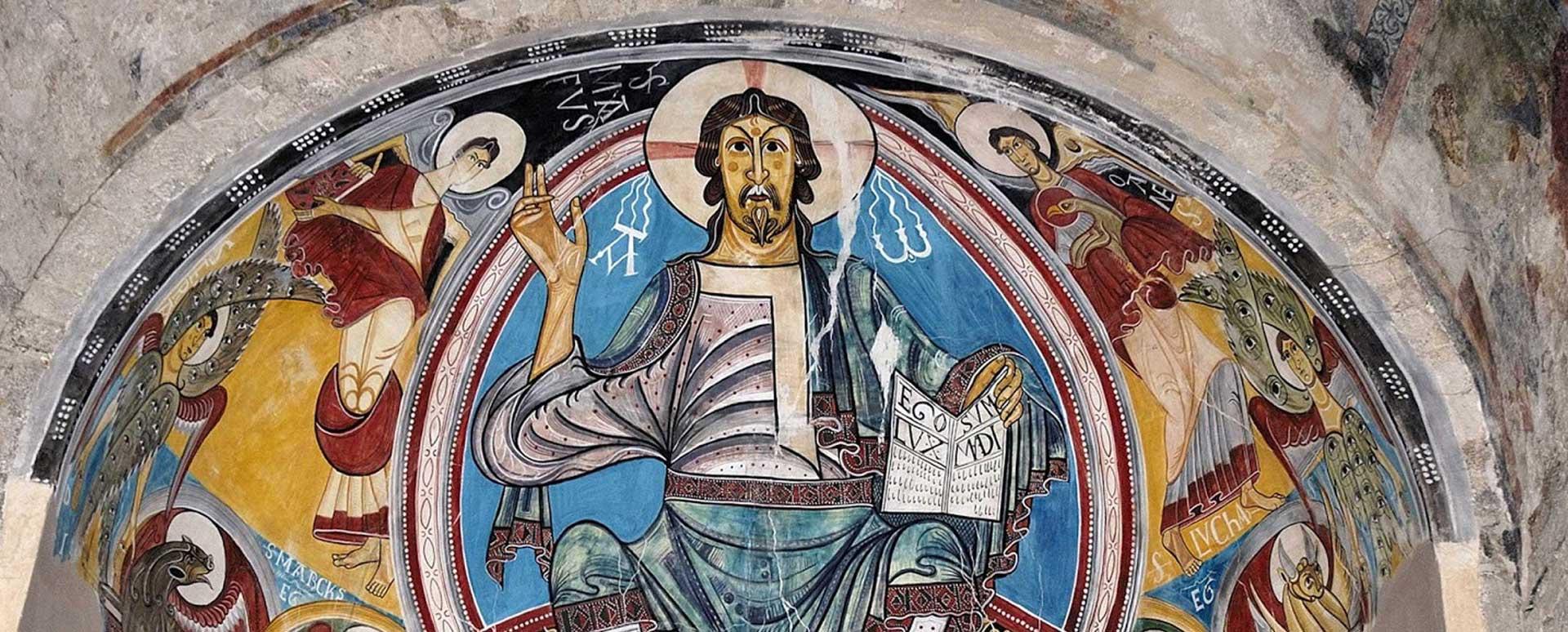Historia del Cristianismo Detalle de Pantocrator