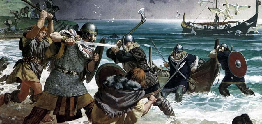 Ataque vikingo - La expansión de los vikingos por europa y sus orígenes