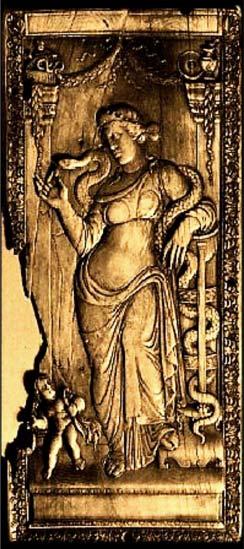 El año nuevo romano se festajaba en honor a las diosa Strenia