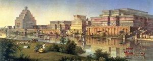Imperio Asirio - Creencias - Eclipse lunar