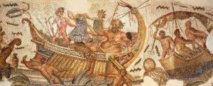 El secuestro de Julio César por los piratas